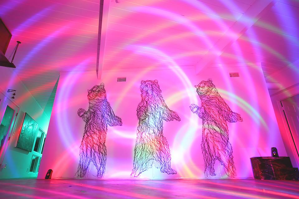 Standing Bears - Interactive Installation